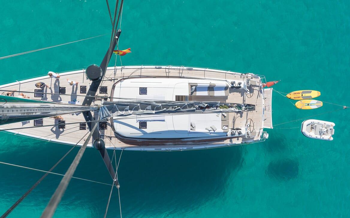 Sailing Yacht Allegro aerial