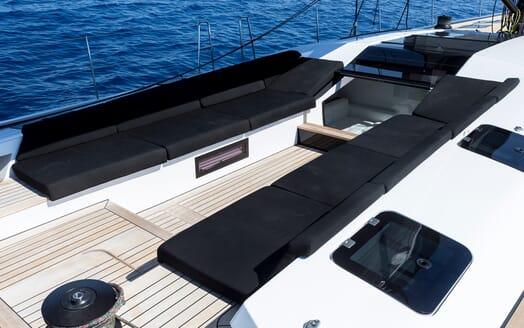 Sailing Yacht EGI4  cockpit