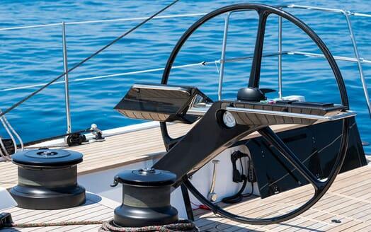 Sailing Yacht EGI4  helm