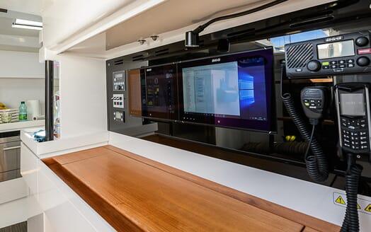 Sailing Yacht EGI4  controls