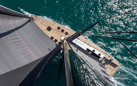 Sailing Yacht EGI4  aerial
