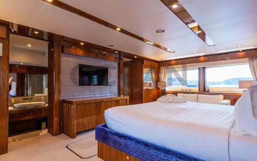 Motor Yacht MAORA Guest Double Stateroom