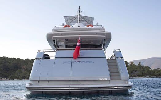 Motor Yacht POZITRON Aft