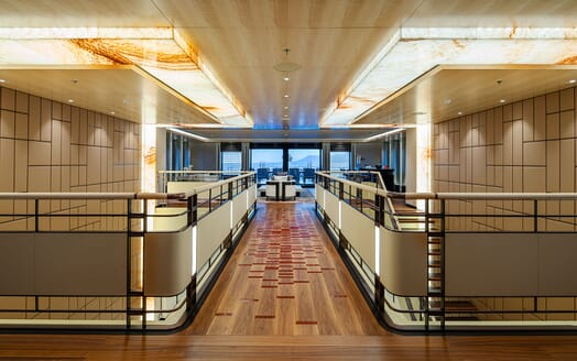 Motor Yacht ILLUSION PLUS Hallway 2
