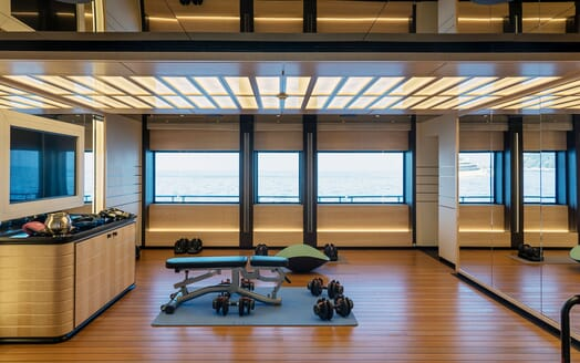 Motor Yacht ILLUSION PLUS Gym