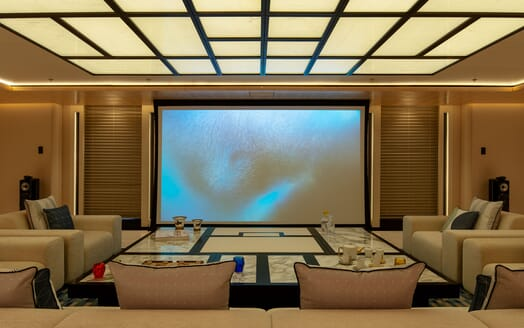 Motor Yacht ILLUSION PLUS Cinema
