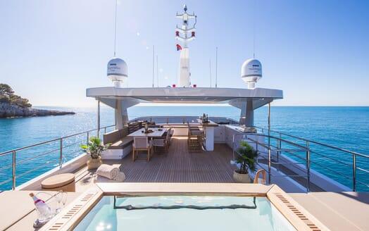 Motor Yacht Mimi La Sardine Sun Deck