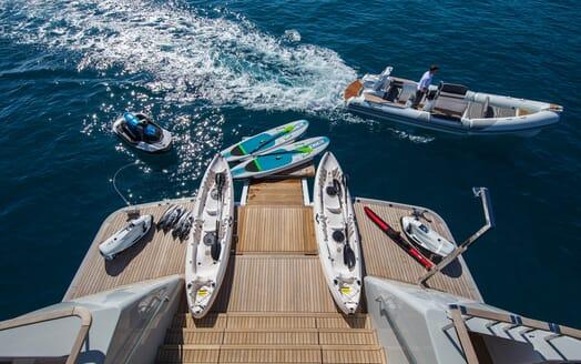 Motor Yacht Mimi La Sardine Tenders and Toys