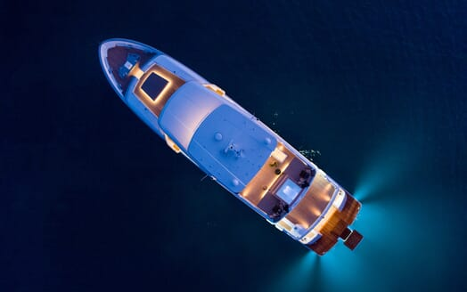 Motor Yacht Mimi La Sardine Aerial View