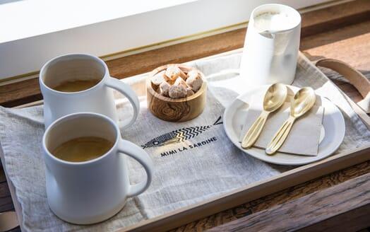 Motor Yacht Mimi La Sardine Coffee