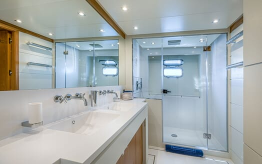Motor Yacht Couach 3707 Saloon and Dining Layout 1