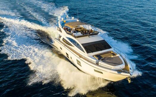 Motor Yacht Sky foredeck