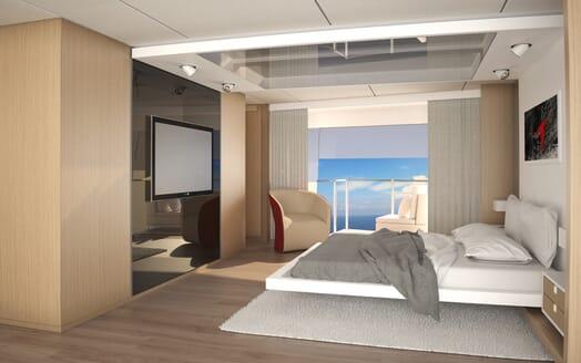 Motor Yacht LUXI95 VIP cabin