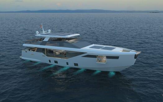Motor Yacht LUXI95 exterior