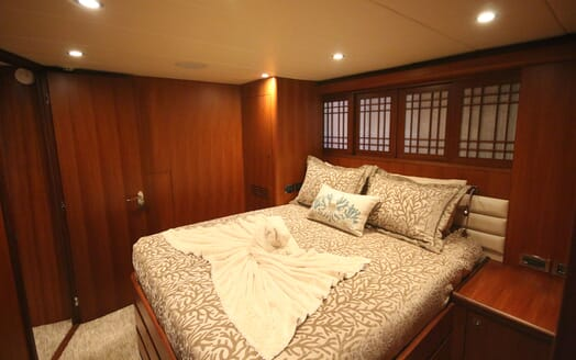 Motor Yacht Lone Star Double Guest Stateroom 2