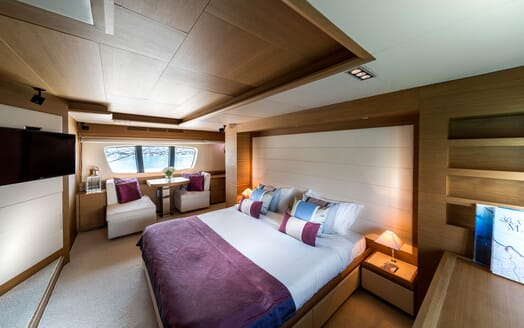 Motor Yacht FIVE Master Stateroom