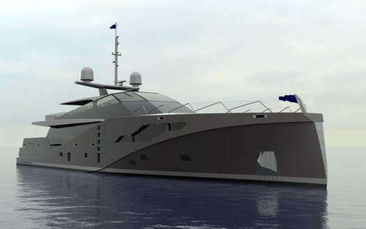Motor Yacht Stealth exterior