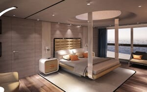 Motor Yacht Blue Runner master cabin