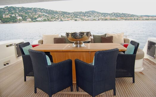 Motor Yacht JPS Aft Deck