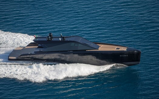 Motor Yacht Checkmate running shot