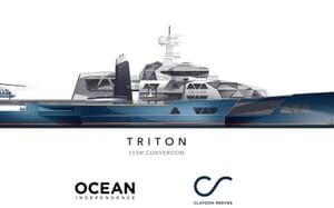 Motor Yacht Triton proposed development