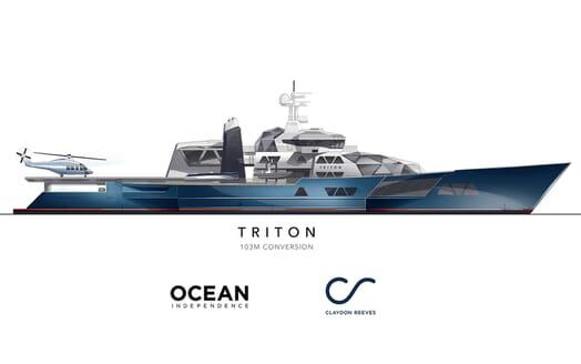 Motor Yacht Triton proposed development