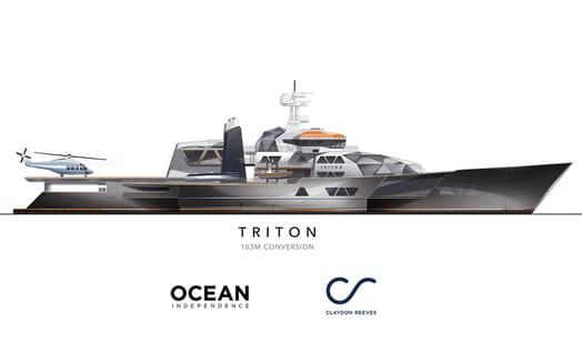 Motor Yacht Triton plan