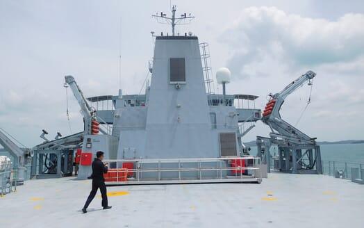Motor Yacht Triton main deck