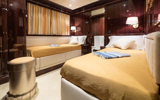 Motor Yacht BLUE MAGIC Twin Guest Stateroom 3
