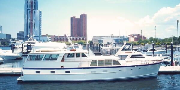 Motor Yacht Penelope moored