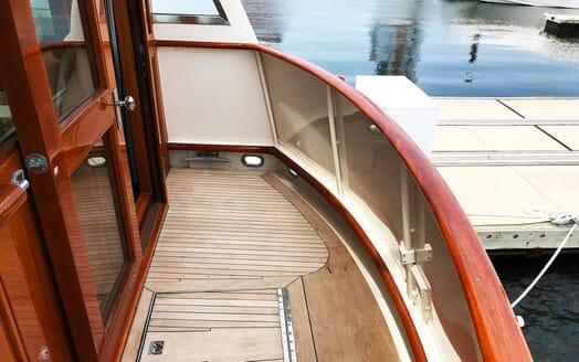 Motor Yacht Penelope aft deck