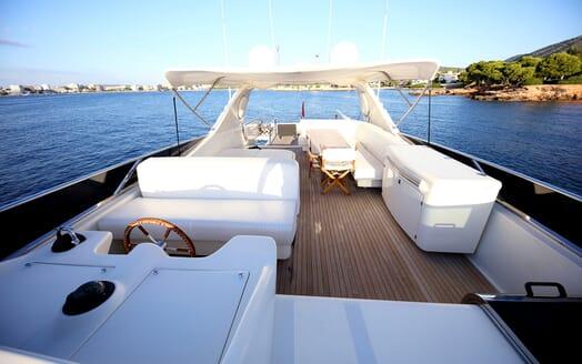 Motor Yacht Jurik sundeck