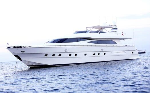 Motor Yacht Jurik at anchor