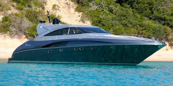 Motor Yacht Fox anchored