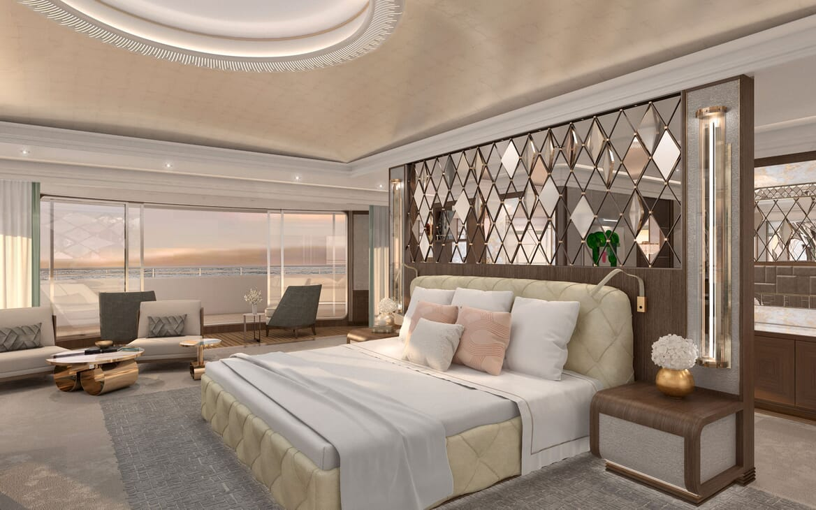 Motor Yacht ICON Master Stateroom 2