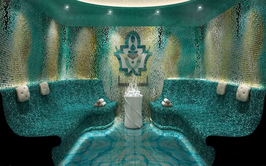 Motor Yacht ICON Steam Room