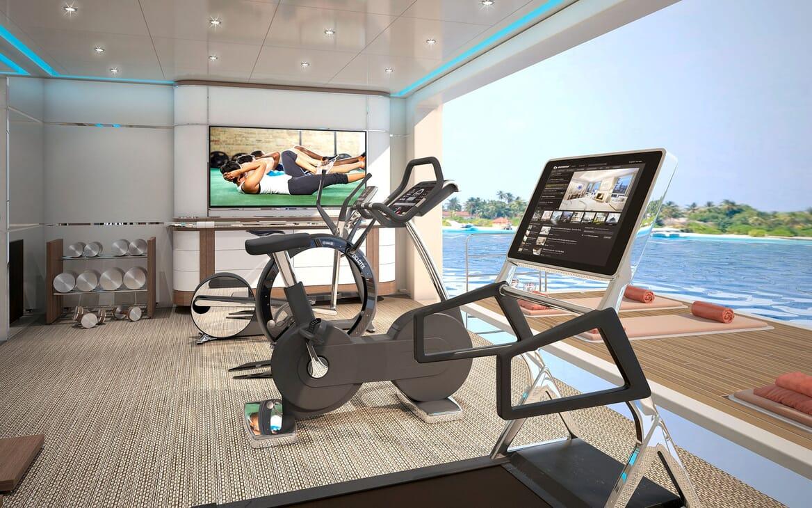 Motor Yacht ICON Gym