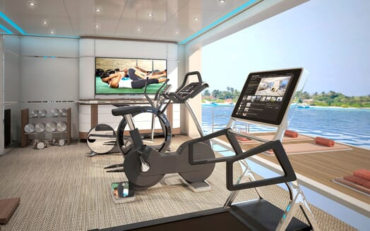 Motor Yacht ICON Gym