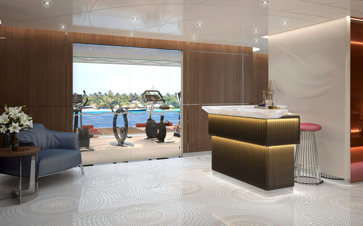 Motor Yacht ICON Gym and Wellbeing