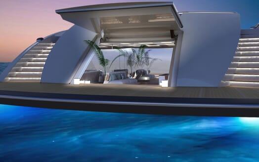 Motor Yacht ICON Aft Deck