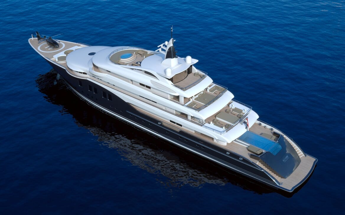 Motor Yacht ICON Aerial