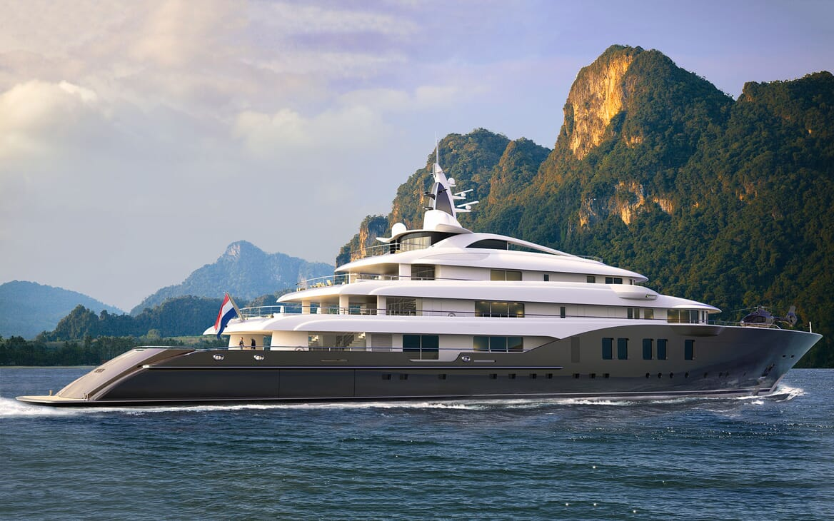 Motor Yacht ICON Side on