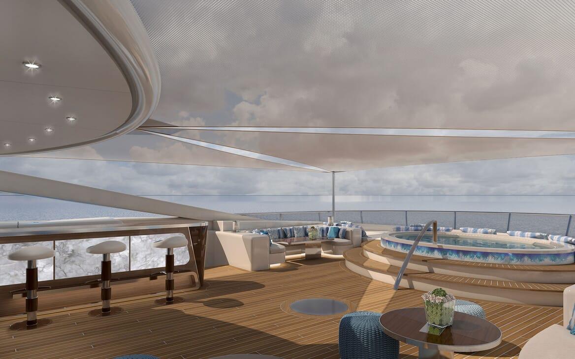 Motor Yacht ICON Sun Deck