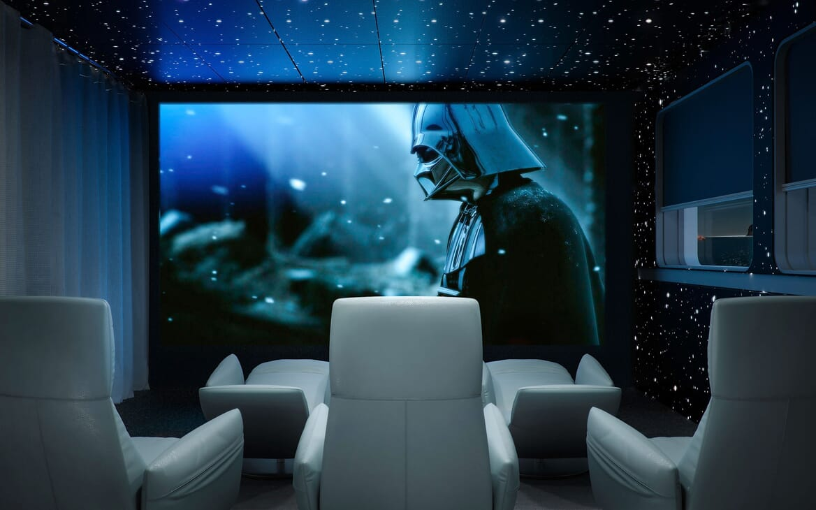 Motor Yacht ICON Cinema Room