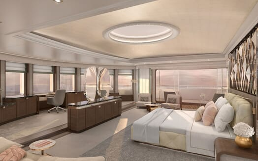 Motor Yacht ICON Master Stateroom