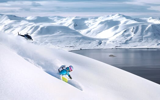 Motor Yacht Hawk Ranger 68 Skiing
