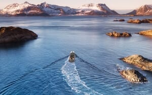 Motor Yacht Hawk Ranger 68 Landscape View Underway