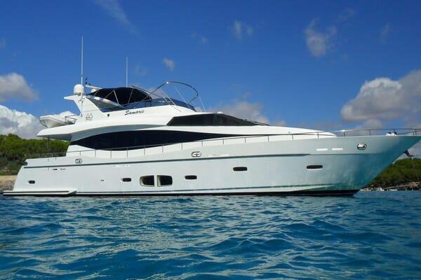 Motor Yacht SAMARIC Profile