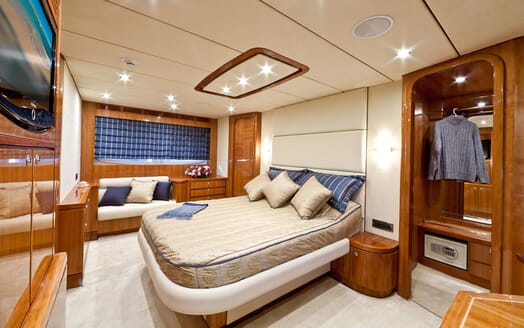 Motor Yacht SAMARIC Master Stateroom