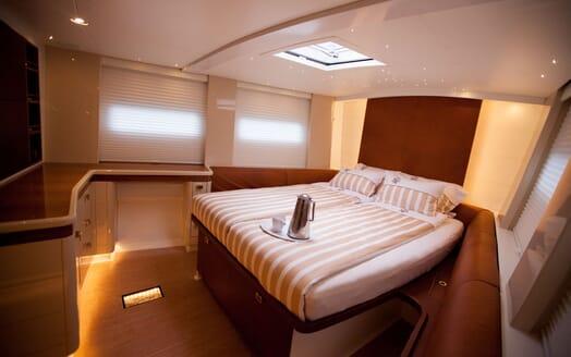 Sailing Yacht Bliss 2 master cabin